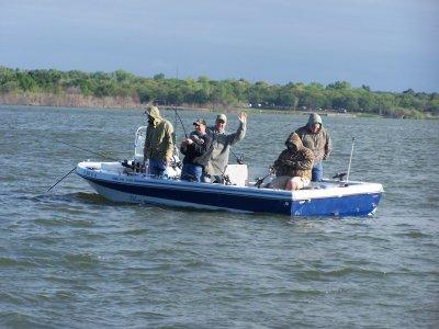 Lake Texoma stripers