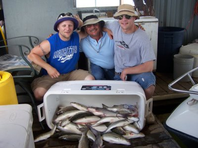 Lake Texoma Striper Guide