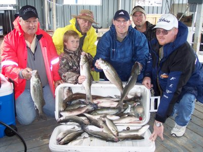 Cross Creek Striper Guide Service