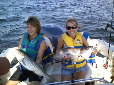 Cross Creek Lake Texoma Striper Fishing Guide Service